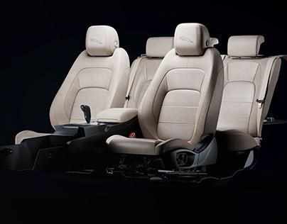 Jaguar CGI Seats