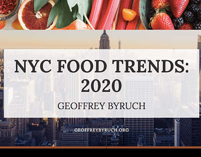 NYC Food Trends (2020)