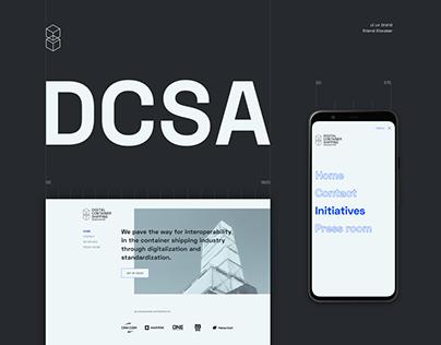 DCSA website & identity