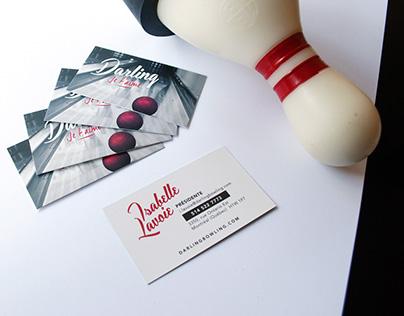 Salon de quilles Darling | Branding