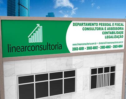 Fachada 3D - Linear Consultoria