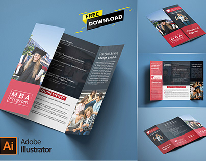 Free Single Gatefold Brochure Download