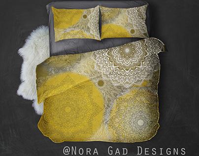 Nora Gad Pattern design /Bedding designs