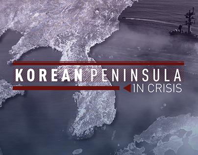 Korean Peninsula in Crisis Coverage Branding