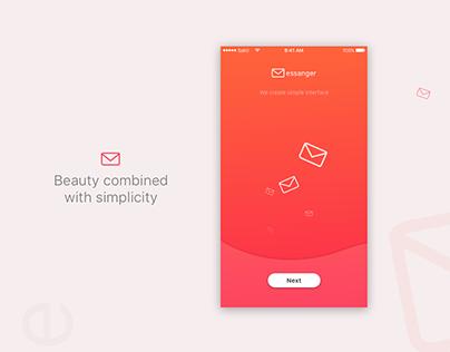 The Messanger App