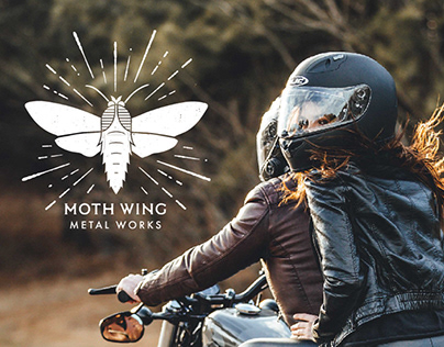 Moth Wing Metal Works - Branding