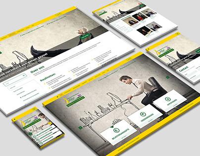 Webdesign voor Insurance Company www.kees-dekker.nl