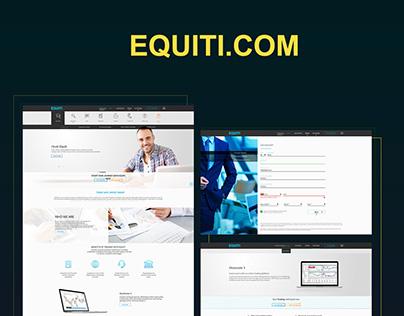 Equiti  UI/UX Design