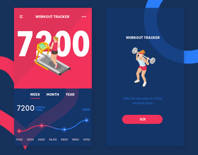 Daily UI #041 Workout Trainer