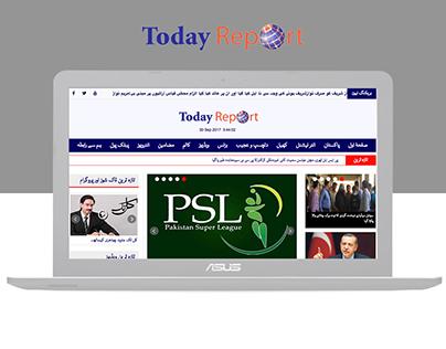 Urdu News Website Design and Developement