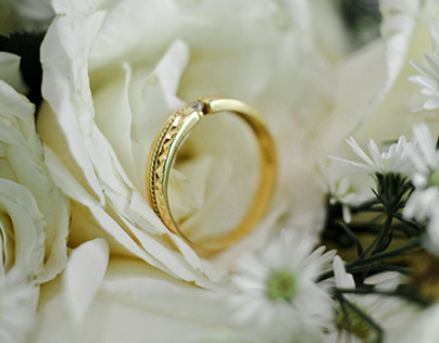 a ring to symbolize love
