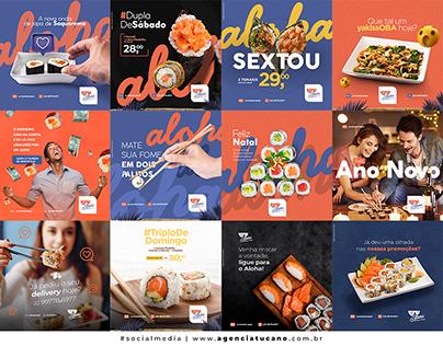 Social Media | Aloha Sushi #1