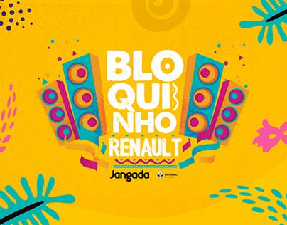Campanha de Carnaval Jangada Renault.