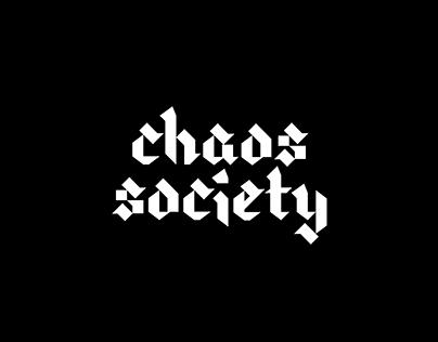 CHAOS SOCIETY | streetwear brand