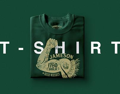 JAMESON Design T-Shirt / activación on trade