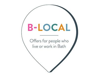 Bath BID - B-Local Logo and Scheme Material