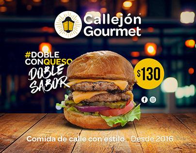 Callejón Gourmet Video promocional #Doble con queso.