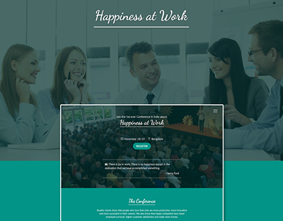 Happiness at Work Conference 2016