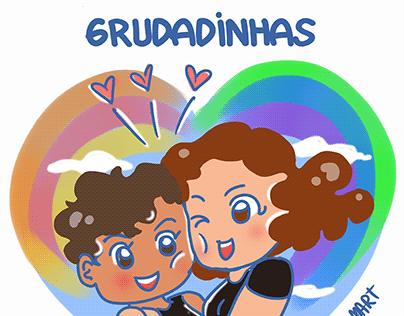Grudadinhas - Poster