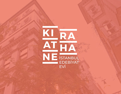 Kıraathane İstanbul Edebiyat Evi Kurumsal Kimlik