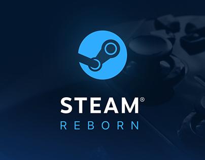 Steam Reborn | UI Concept