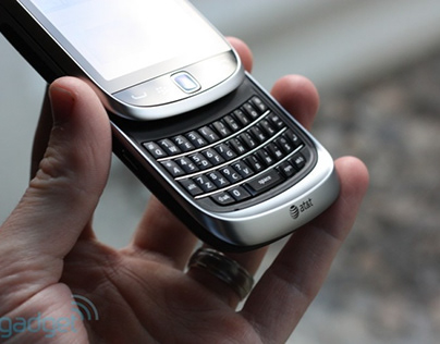 Emailing In Greater Comfort With The Blackberry Torch