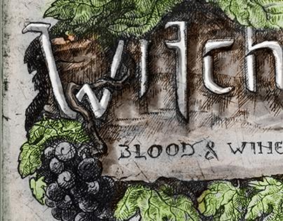 Witcher - Blood & Wine: intaglio print/poster