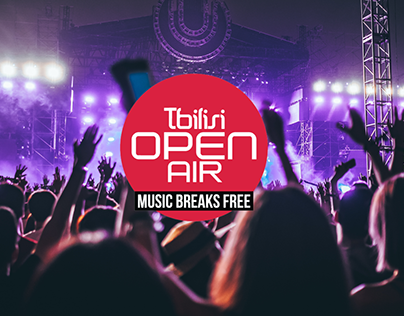 Tbilisi Open Air - UI Design Concept