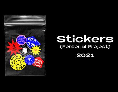 Quarantine Stickers (2021)