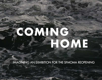 Coming Home, an exhibition for SFMOMA's reopening