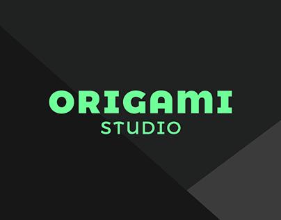 Origami Studio App Concept