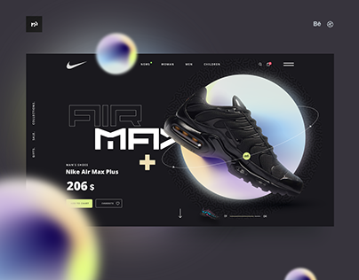 Product Page Collection / Ui design Concepts
