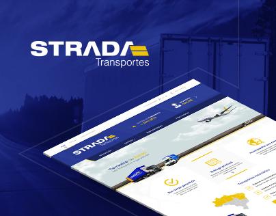 Strada Transportes - Interface Web