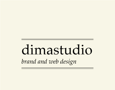 dimastudio | brand and web design