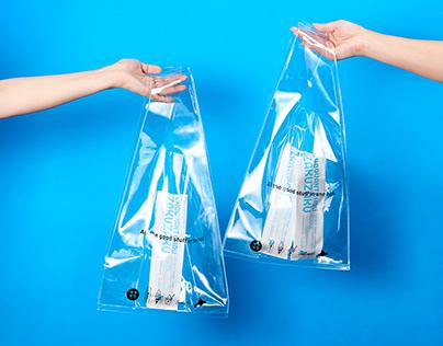 ZAKUZAKU Transparent Bag