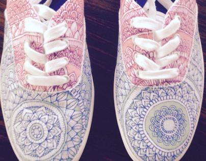 ::Cotton Candy-Shoe Design::