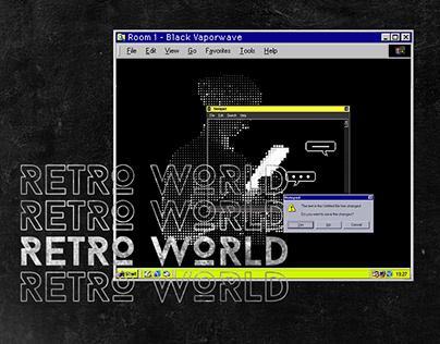 Programming: Vaporwave world with Java