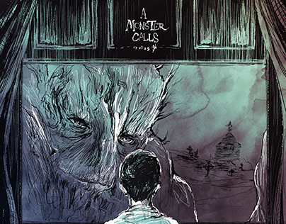 a Monster Calls/ Movie fanart poster & cover