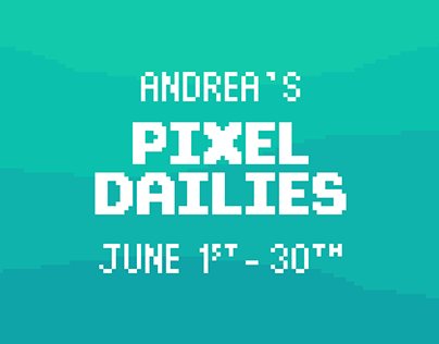 My Pixel Dailies - June 2019