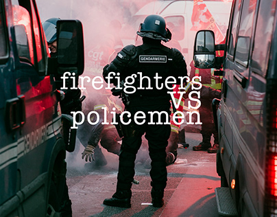 Firefighters vs policemen