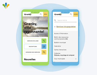City Granby |Responsive city portal & intranet