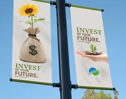 """Invest In Your Future"" Campaign"
