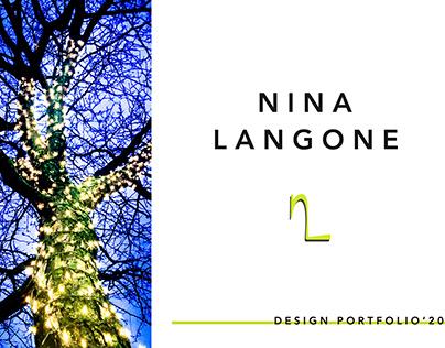Nina Langone Design Portfolio 2019-2020