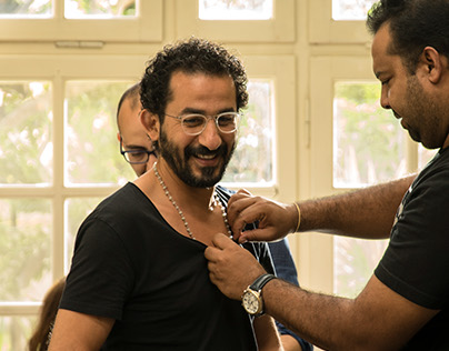 Making of Unicef ad with Ahmed Helmy.