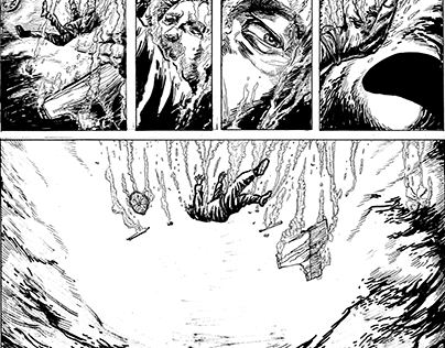 The shark _4 pages comics