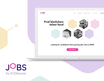 Job portal for crypto & blockchain community
