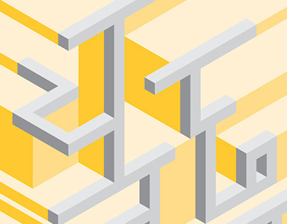 Devanagari Project - 3D Typestyle