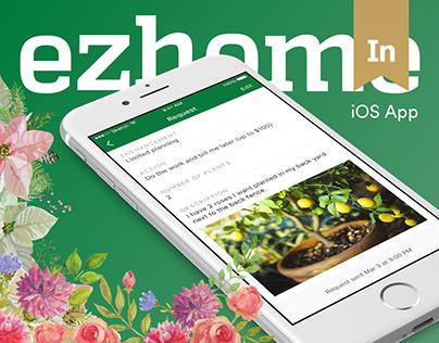 ezhome iOS app