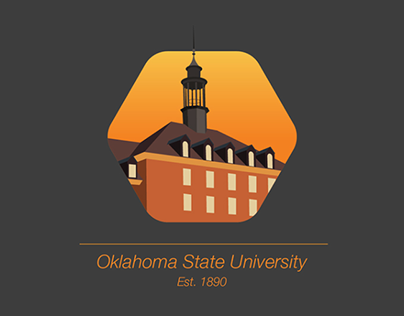 Oklahoma State University building icons