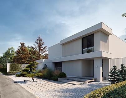 Modern house (for LK&Projekt 2020)